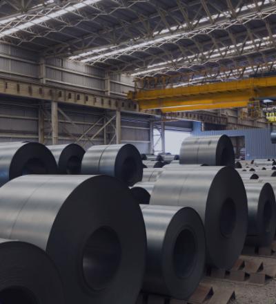 Steel stockholder DP TRADE